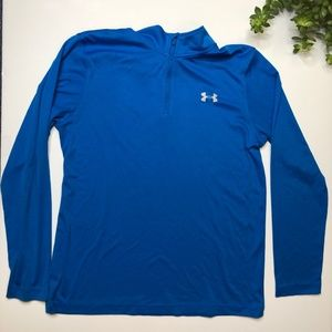 Under Armour blue lightweight pullover size M